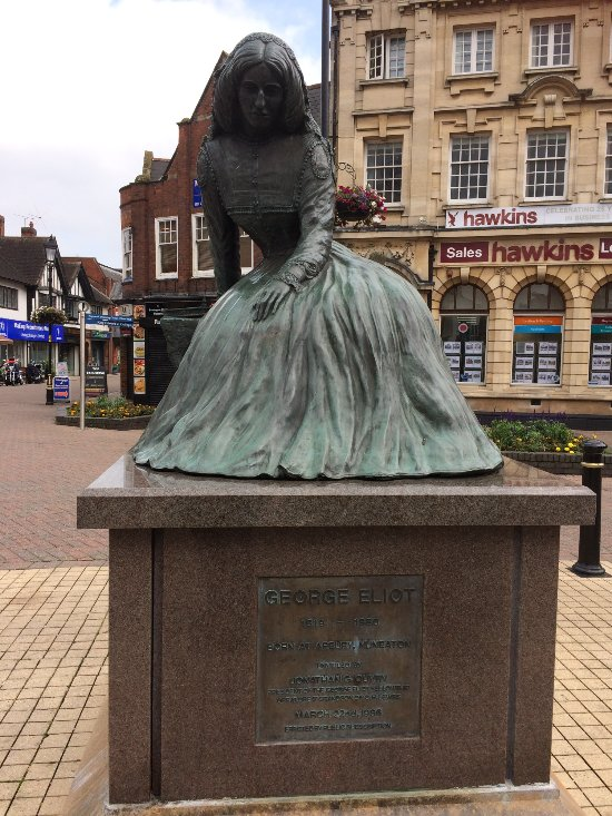 Statue of writer George Eliot