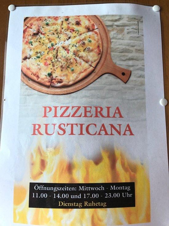 Pizzeria Rusticana, Büdingen - Restaurant Bewertungen ...