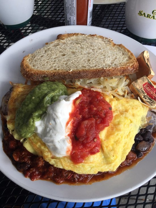 Calistoga Cafe Menu