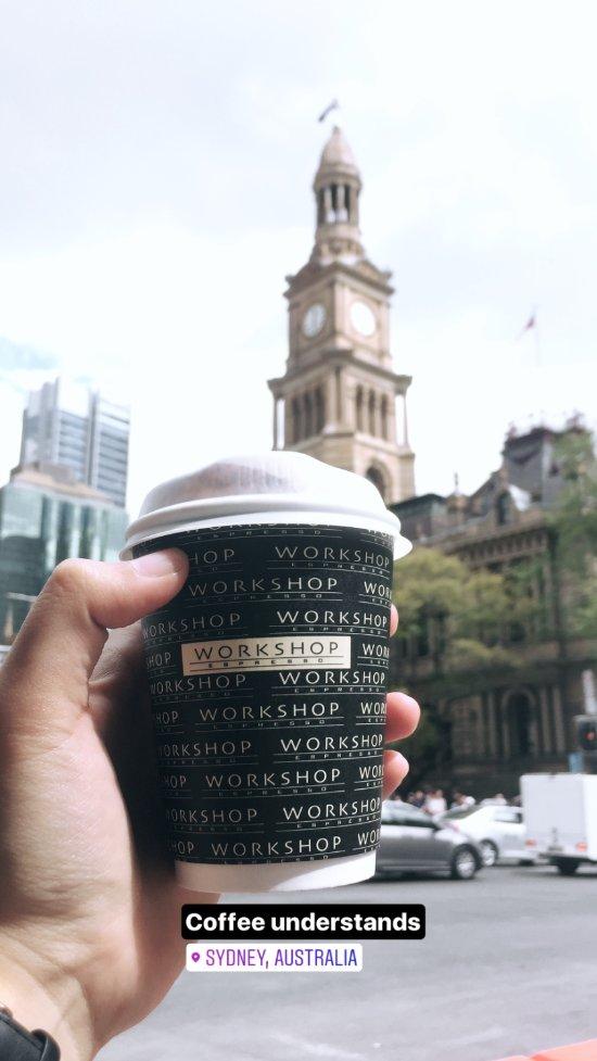 Workshop Espresso, Sydney - 500 George St, Hauptgeschäftsviertel ...