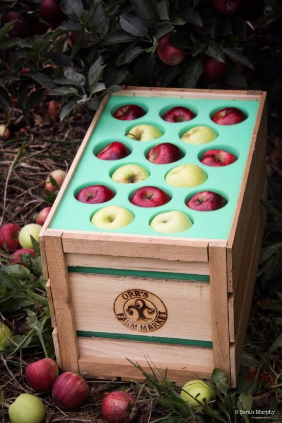 Gift Crate of Apples
