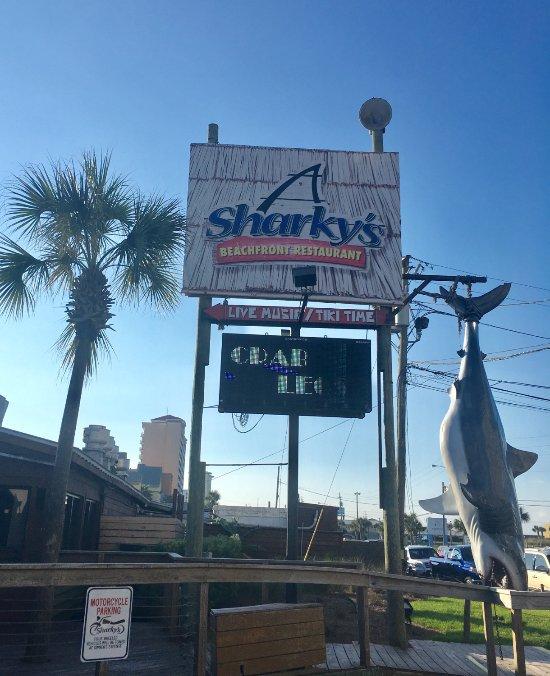 Sharky S Beachfront Restaurant Front Beach Road Panama City Fl