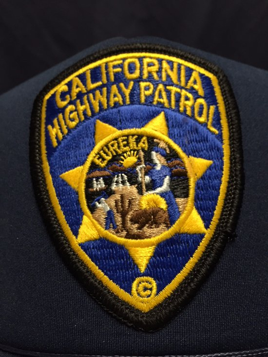 CALIFORNIA HIGHWAY PATROL PATCH AND LOGO