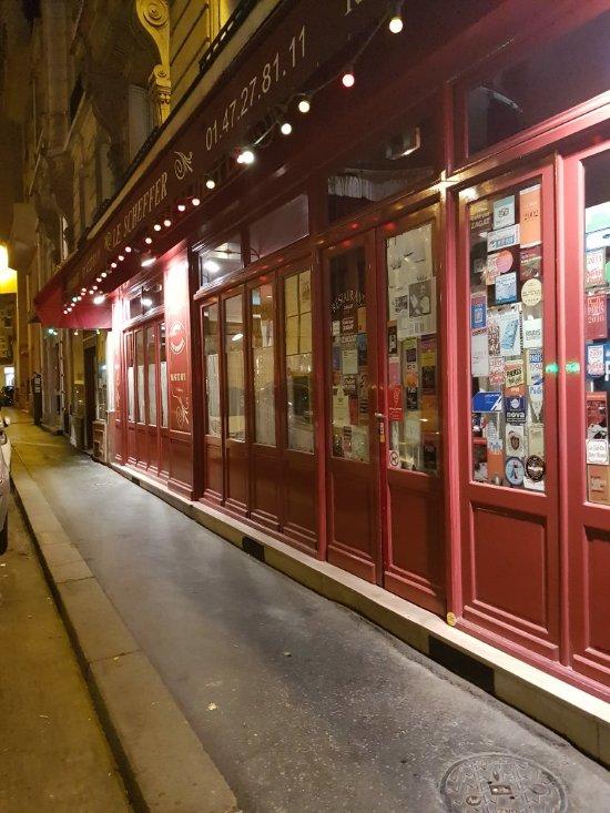 Scheffer Restaurant Paris