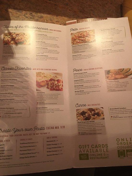 Olive Garden West Valley City Menu Prices Restaurant Reviews Tripadvisor