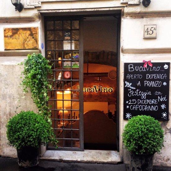 Bucavino Rome Salario Menu Prices Restaurant Reviews