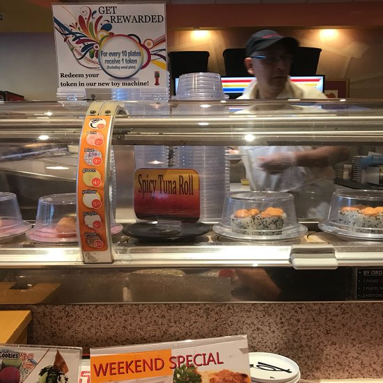 Sushi Station Rolling Meadows Restaurant Reviews Photos Phone Number Tripadvisor Went to chicago this past weekend and was recommended to try out this sushi train restaurant. sushi station rolling meadows