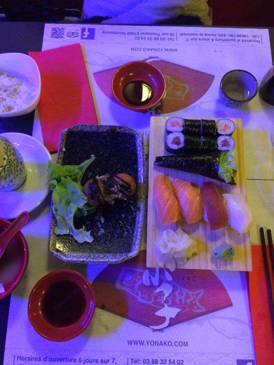 Restaurant Sushi Rue Thomann Strasbourg