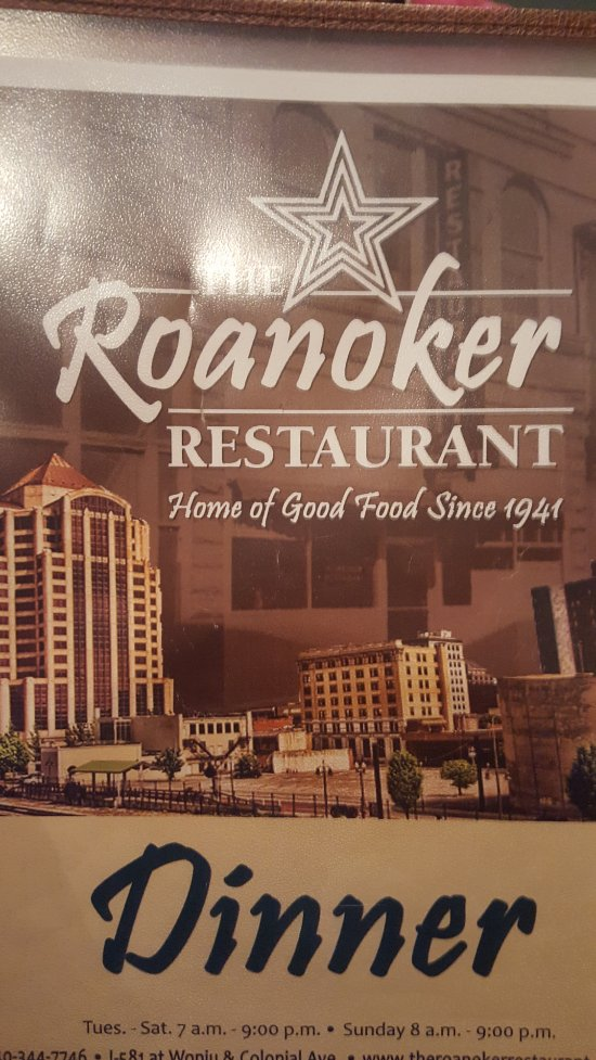 The Roanoker Restaurant Reviews
