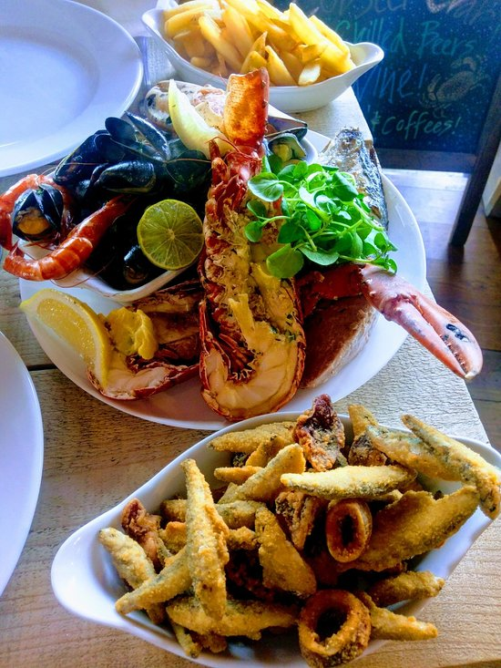 Seafood Restaurants Saundersfoot