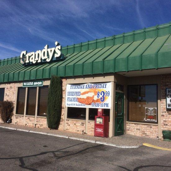 Car Value Sites: Grandy's Restaurant, El Paso