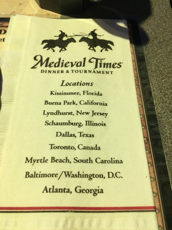 Medieval Times Myrtle Beach Phone Number