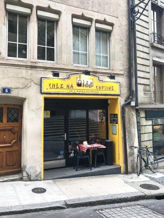 Chez ma cousine gen ve 6 place bourg de four bourg de - Chez ma cuisine geneve ...