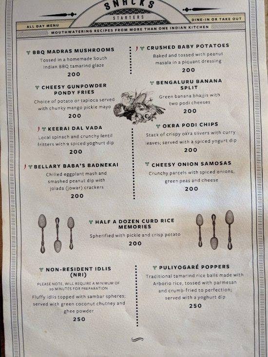 The permit room bangalore omd men om restauranger for Arman bengal cuisine dinas menu