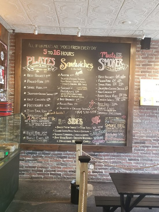 Smoke bbq fort lauderdalen ravintola arvostelut tripadvisor