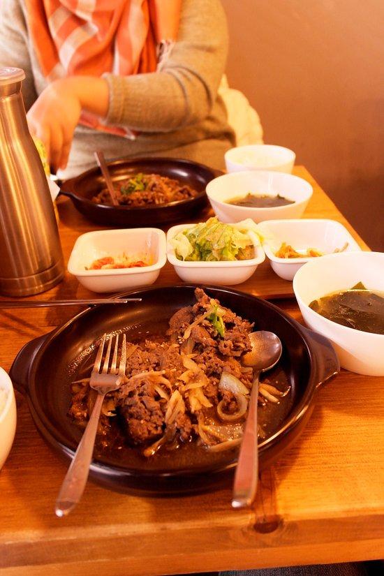 Best korean restaurant burnaby halal options