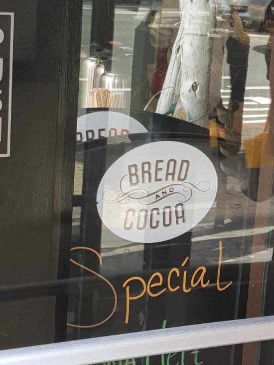 Bread and Cocoa, San Francisco - Financial District - Menu, Prices ...