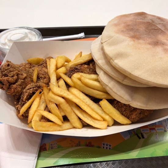 Al Tazaj Fakieh Bbq Chicken Restaurant Dubai Al Badaa St