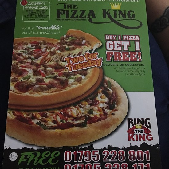 The Pizza King Faversham Updated 2020 Restaurant Reviews