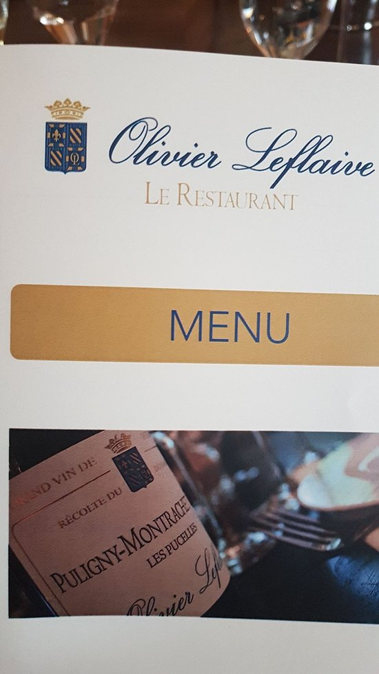 La table d 39 olivier leflaive tripadvisor - La table d olivier leflaive puligny montrachet ...