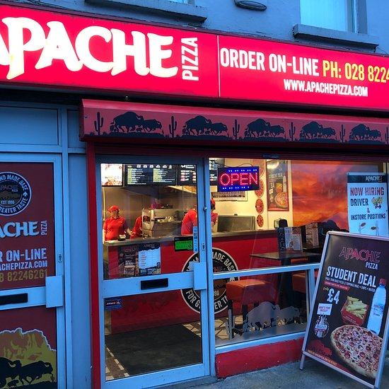 Apache Pizza Omagh Menu Prices Restaurant Reviews