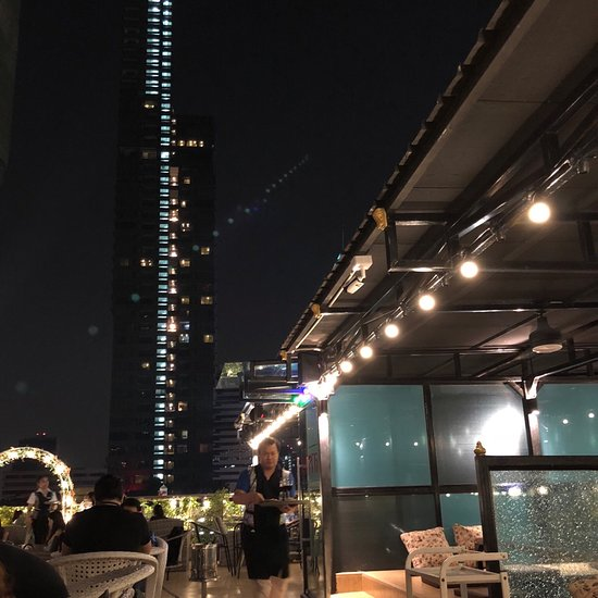 Heaven Rooftop Bar Silom Plaza Bangkok Bang Rak