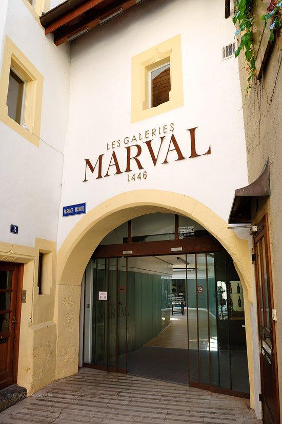 Les Galeries Marval