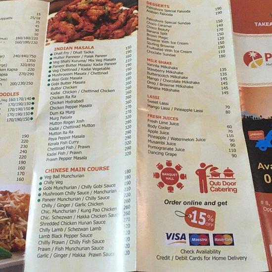 Palmshore Restaurant, Chennai (Madras) - Mount Poonamallee High Rd