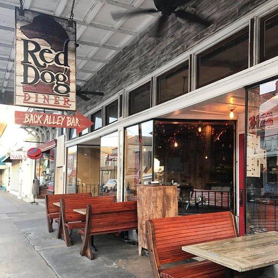 Red Dog Diner, New Orleans
