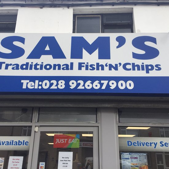 Sams Traditional Fish And Chips Lisburn Restaurant