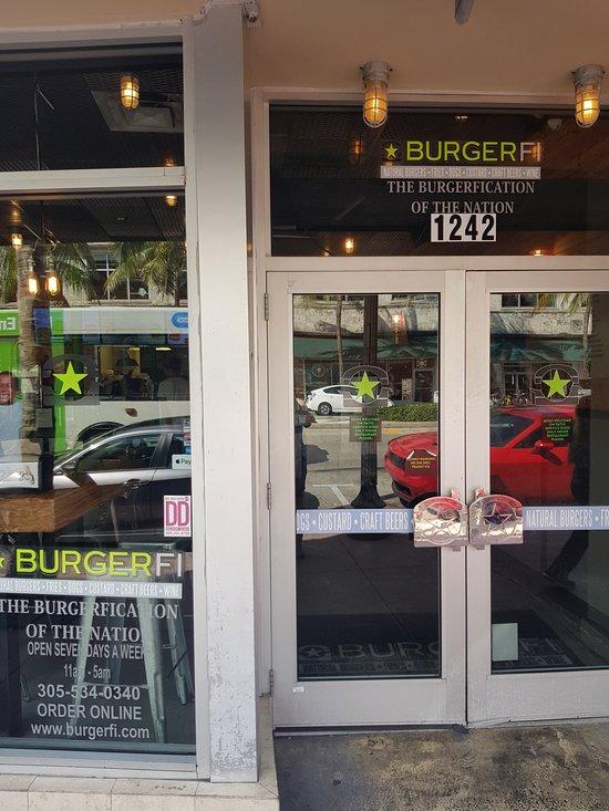 Burgerfi Miami Beach Fl