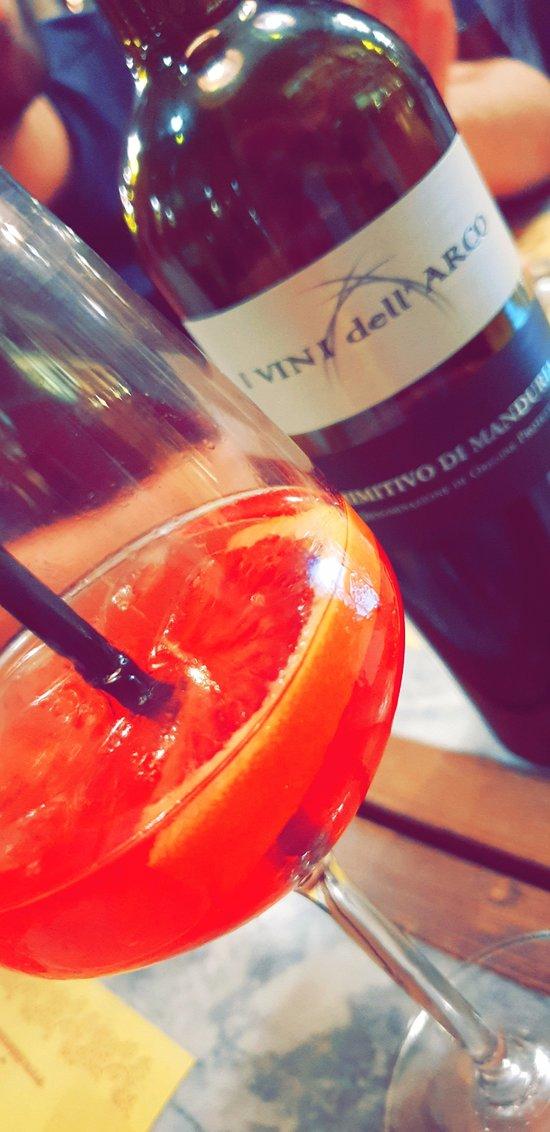 spritz et vin