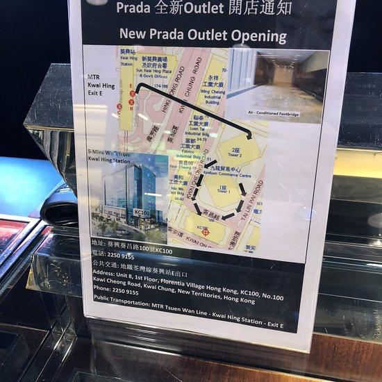 Prada Outlet (Space) (Hong Kong): AGGIORNATO 2020 tutto