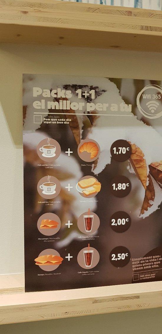 365 Cafe Barcelona 28 Ronda de