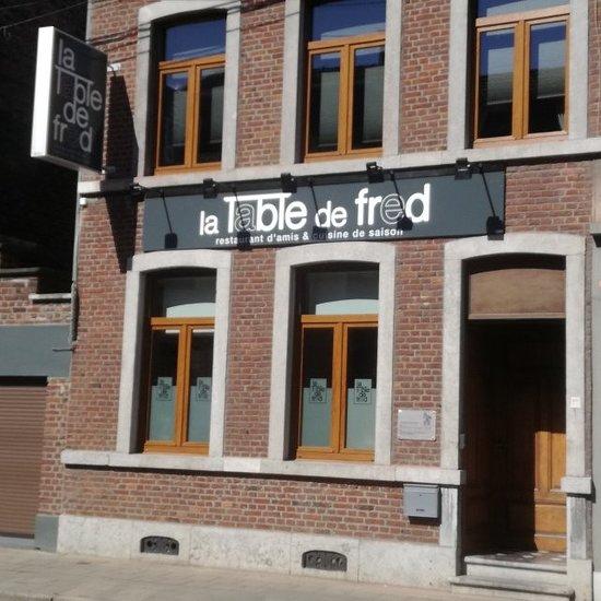 La Table De Fred Flemalle Restaurant Reviews Photos Phone