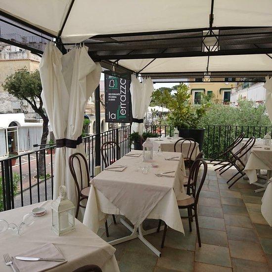 La Terrazza Del Corso Ischia Porto Menu Prices