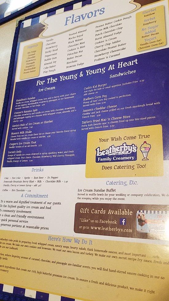 Leatherbyu0027s Family Creamery Draper Restaurant Reviews