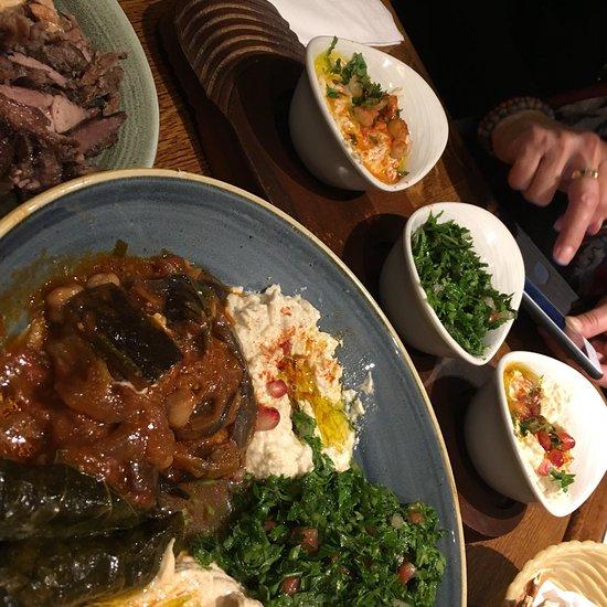 Paramount Lebanese Kitchen Paddington, London