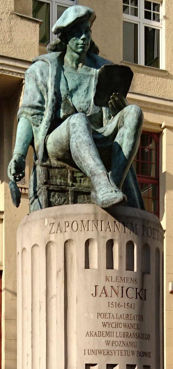 Najnowsze Pomnik Klemensa Janickiego (Poznań, Polska) - opinie ZH19