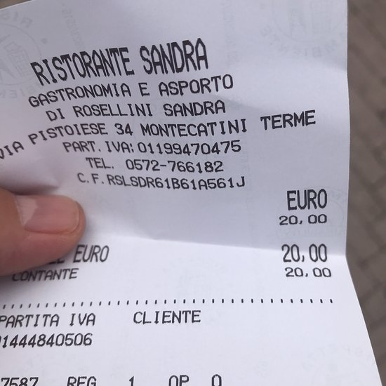 ticket restaurant partita iva