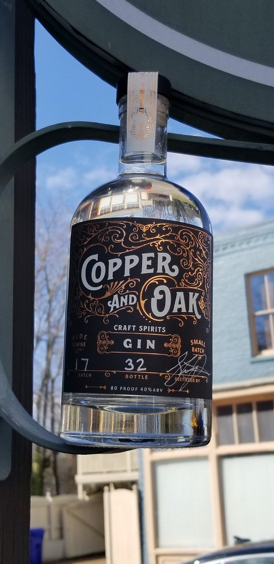 Copper and Oak Craft Spirits