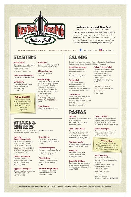 Italian Restaurants In Nags Head Nc