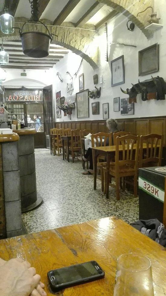 Restaurante Bidasoa Barcelona Barrio Gotico Barri