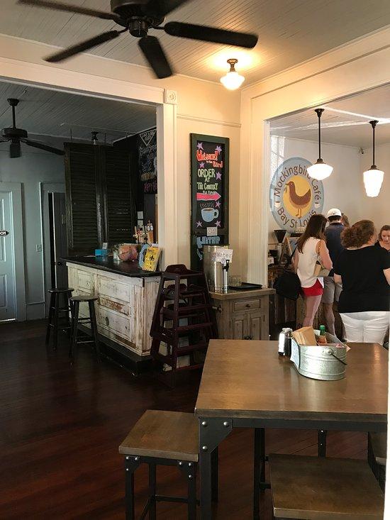 Mockingbird Cafe Bay St Louis Menu