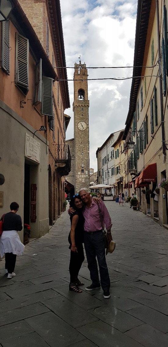 Wonderful day visiting Montalcino vineyards