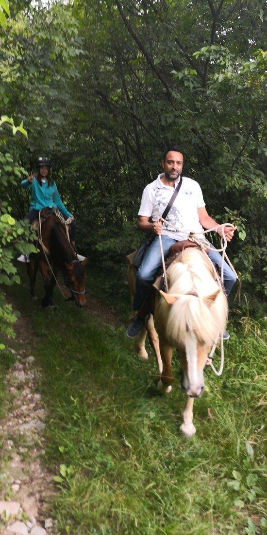 Passeggiata a cavallo indimenticabile!