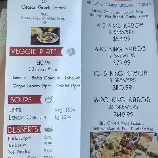 Kabob House, Temecula - Menu, Prices & Restaurant Reviews - Order