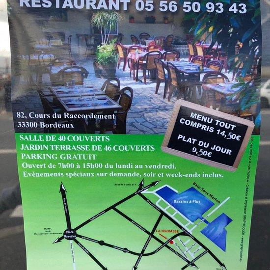 La Terrasse, Bordeaux - 82 cours du Raccordement ...