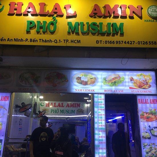 Halal Amin Pho Muslim Ho Chi Minh City Restaurant Reviews