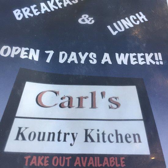 Modern Kitchen Syracuse Ny: Carl's Kountry Kitchen, Syracuse